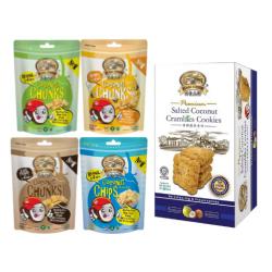 Coconut Snack Bundle Pack [Package D]